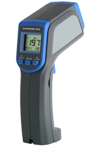 Infrared thermometer with humidity sensor ScanTemp RH 898