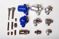 Accessories: Connection Heads, Clamp Fixtures, Adapters, Thermowells